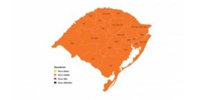 mapa do distanciamento